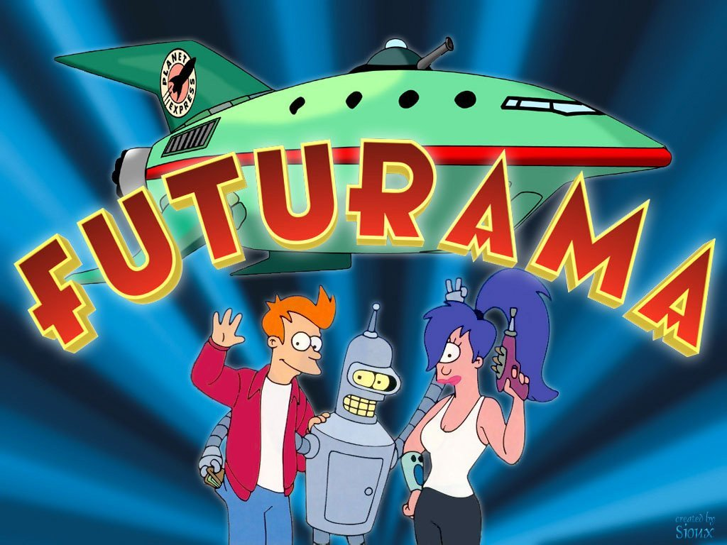 futurama wallpaper